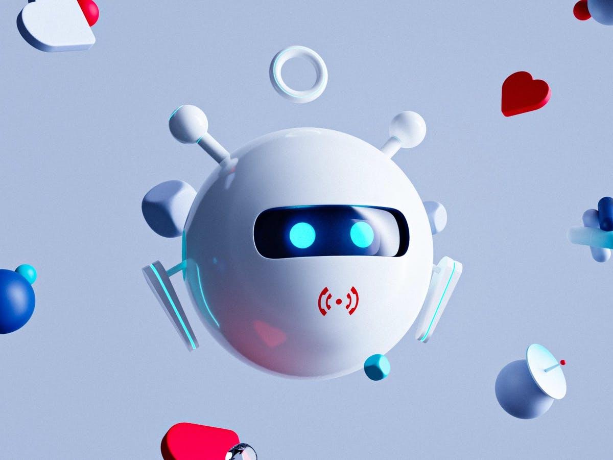 Image of an AI Bot