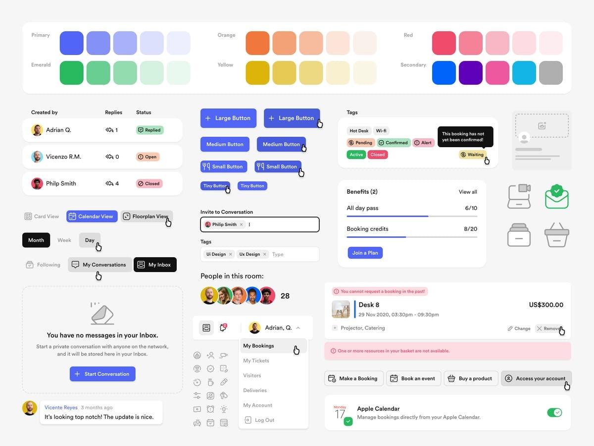image of a design system