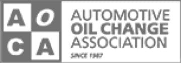 automotive oil change association logo