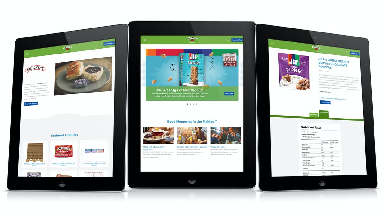 Smucker Away From Home Redesign Page Views