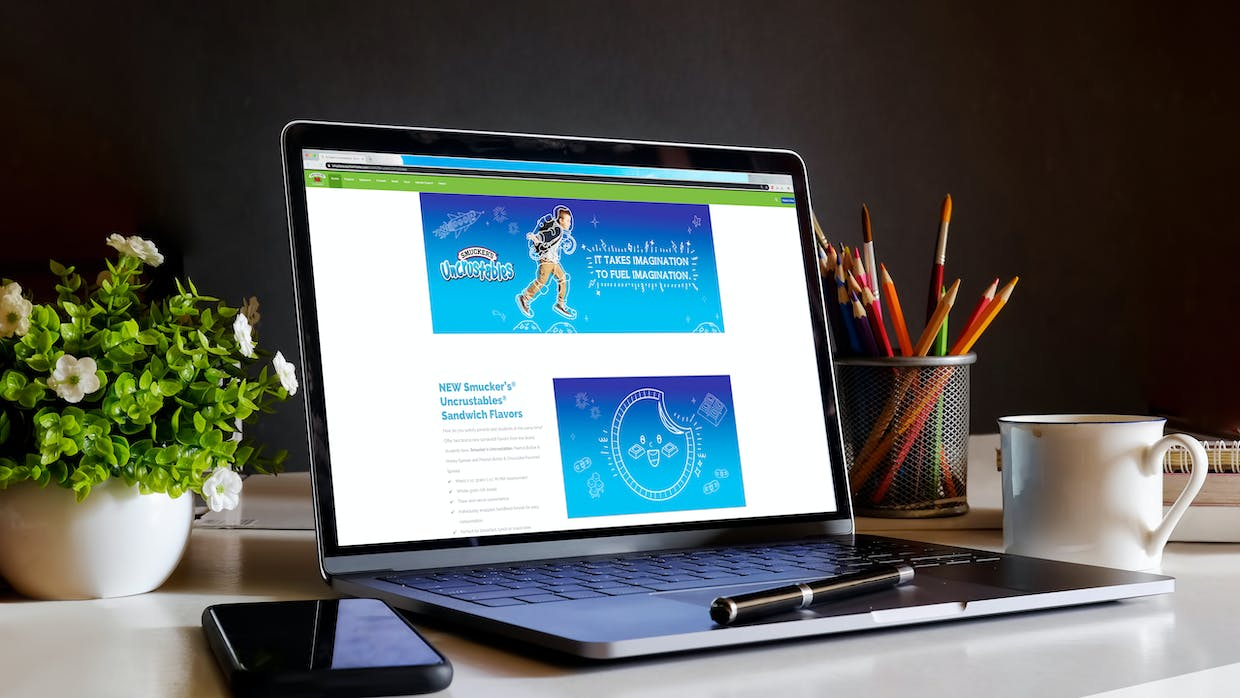 Smucker Away From Home K-12 Landing Page
