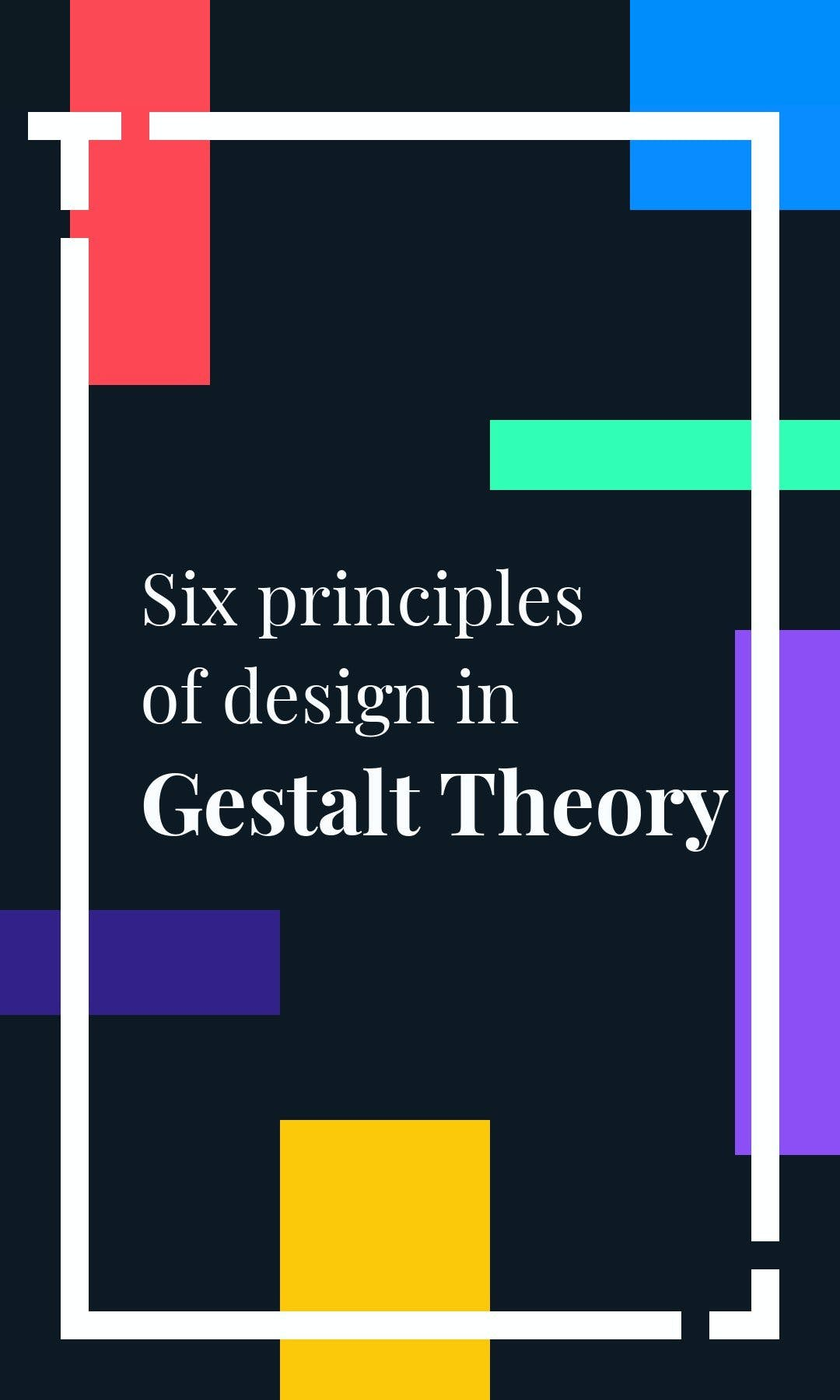 Cover image of a Tappable web story showing the Gestalt's theory
