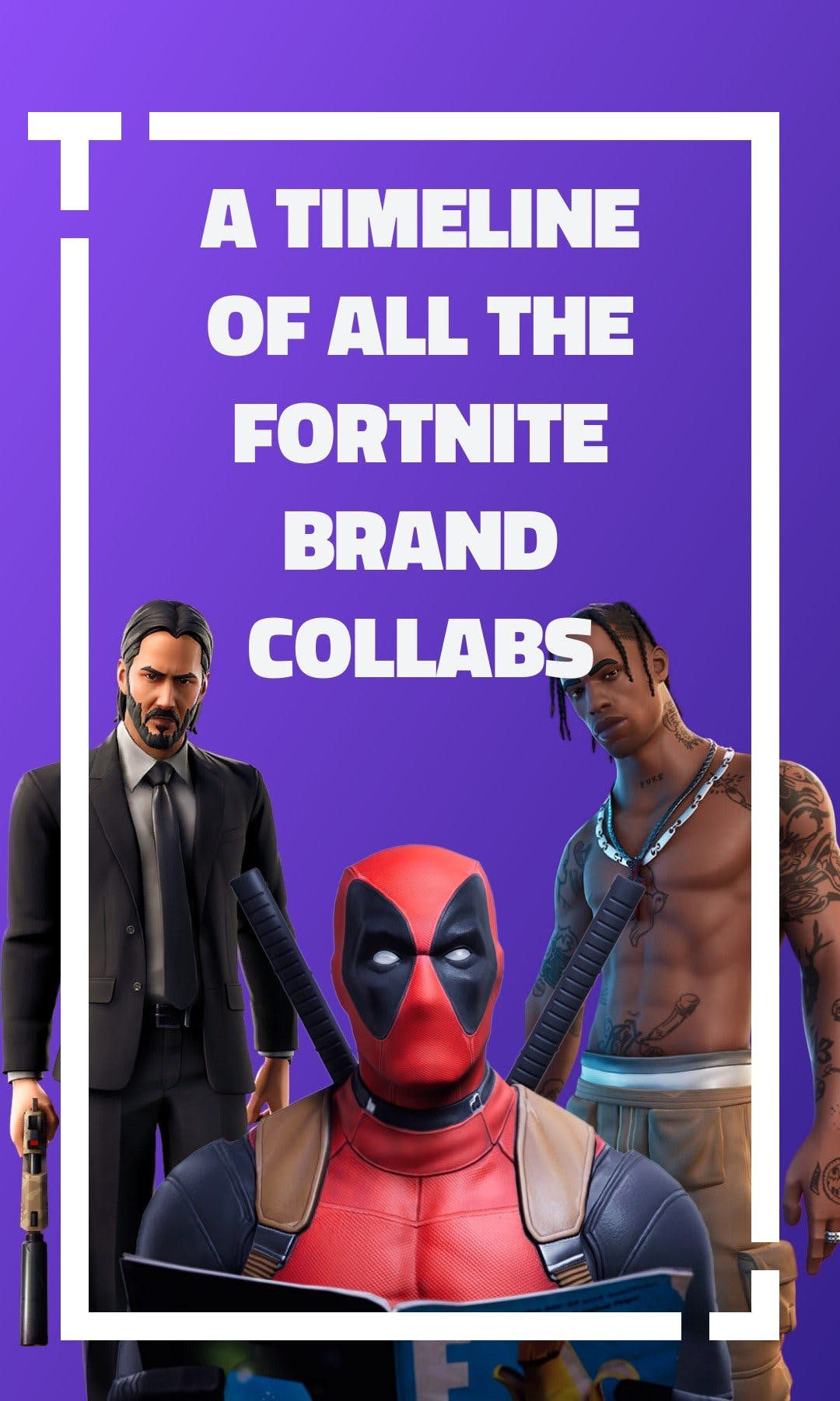 Cover image of a Tappable web story showing fortnite brand colabs