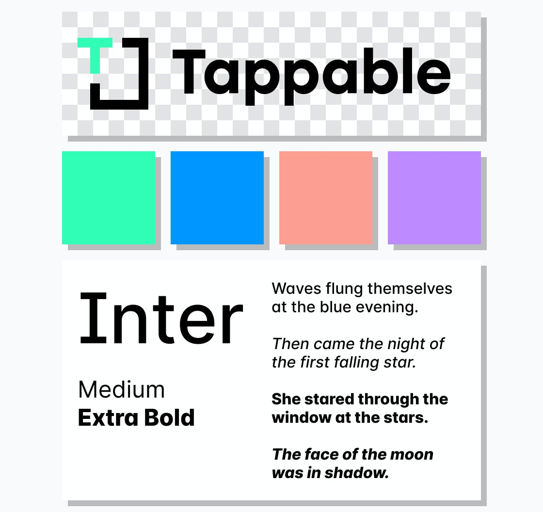 Tappable Web Story editor allows you to save brand colors and fonts