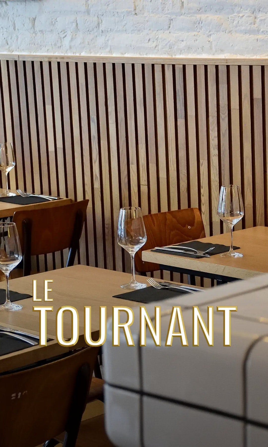 Le tournant restaurant web story