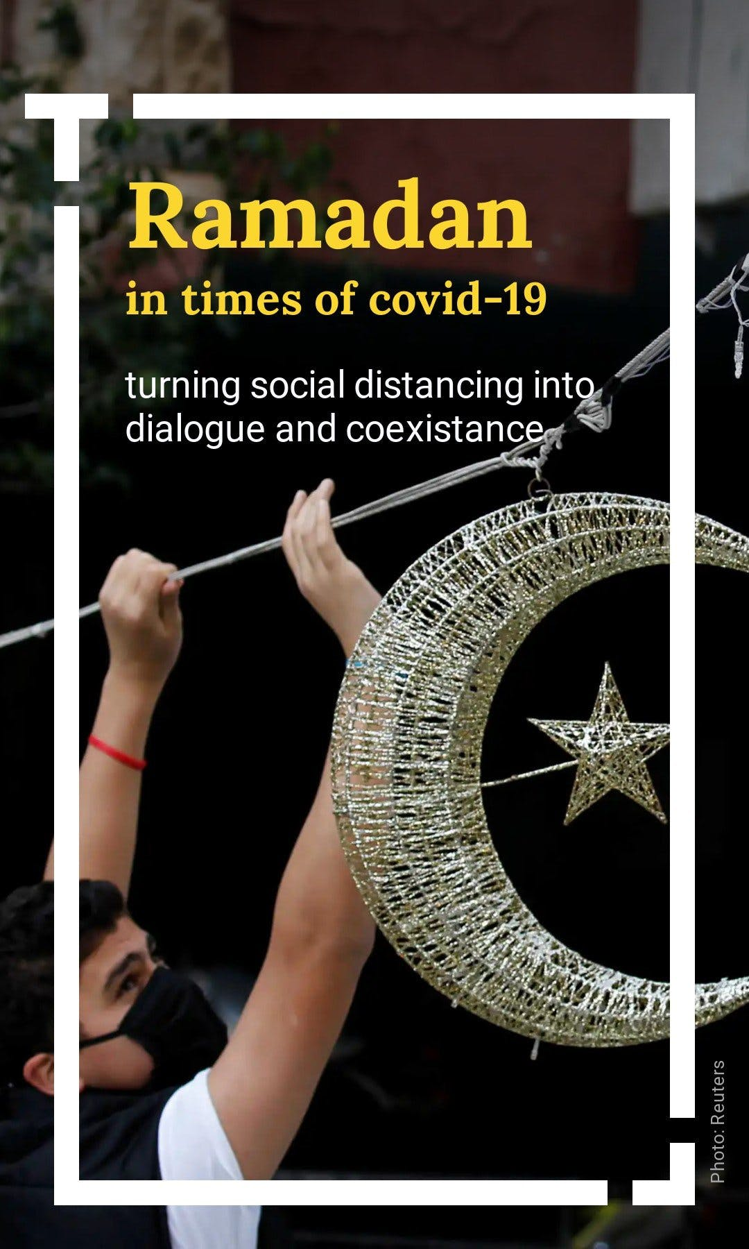 Cover image of a Tappable web story explaining how Covid-19 has impacted the Ramadan