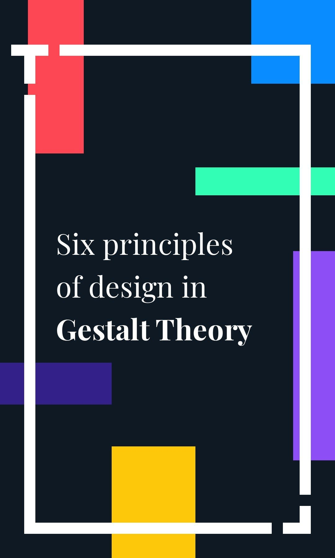 Cover image of a Tappable web story explaining how gestalts' theory works
