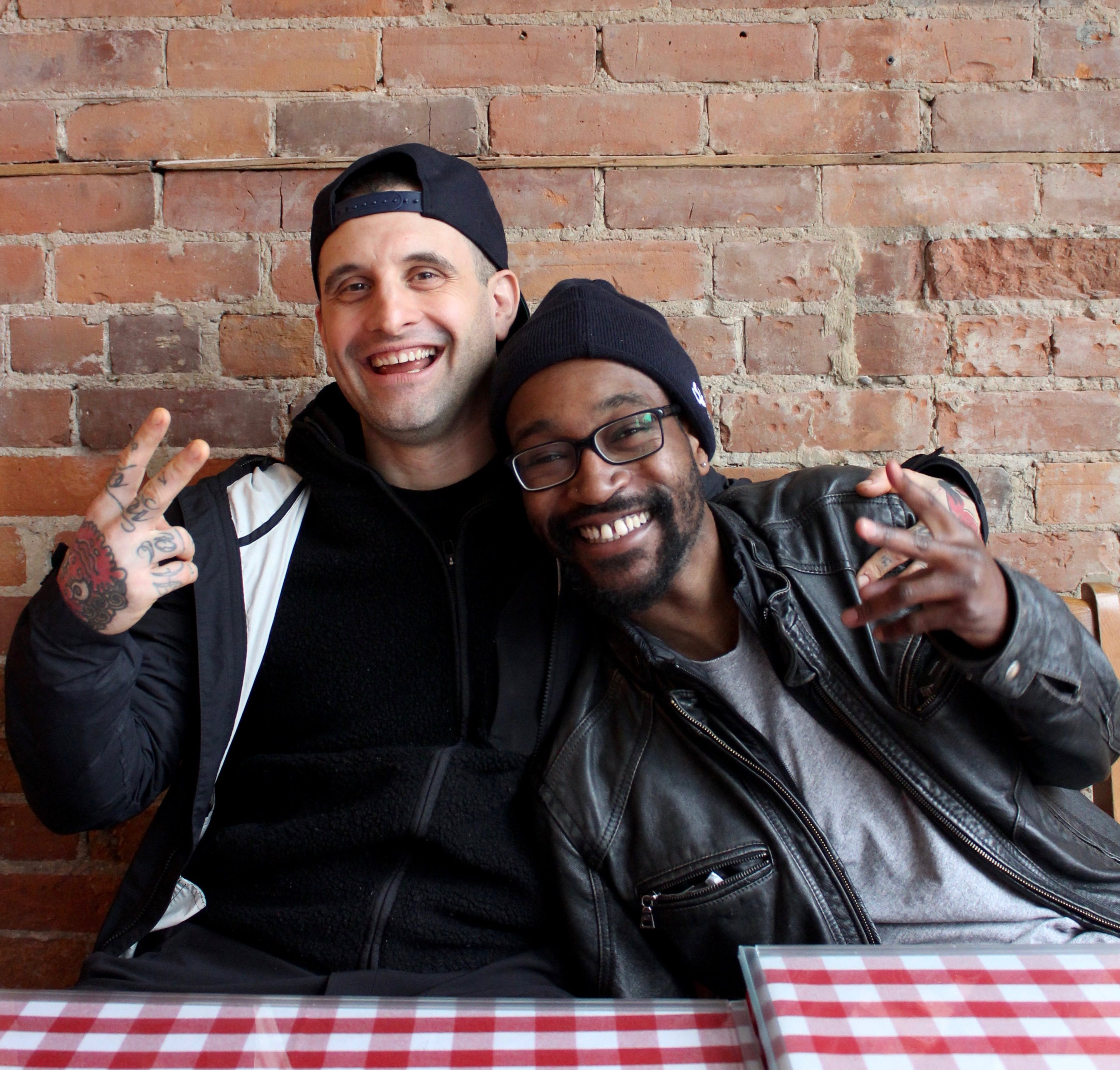 Co-owners Conor 'aka Conzo' Joerin and Lamine Martindale.
