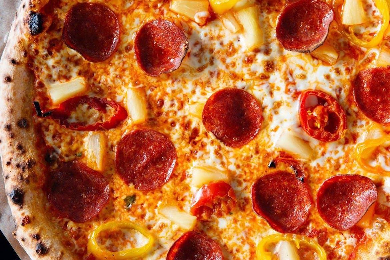 Pi Co. pizza everywhere!