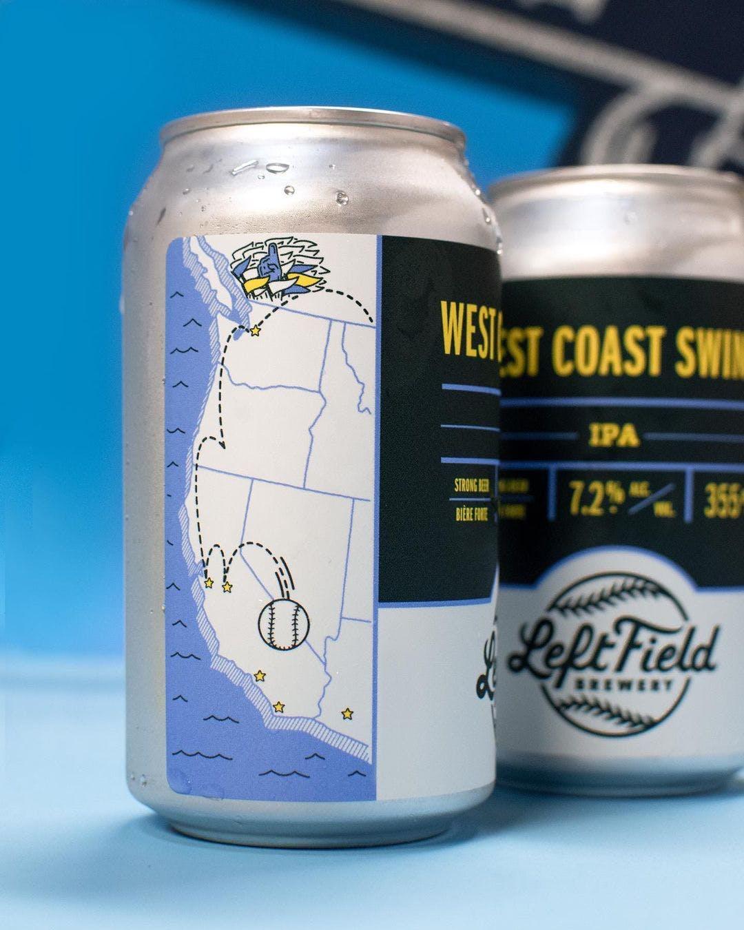 West Coast Swing IPA, Left Field Brewery