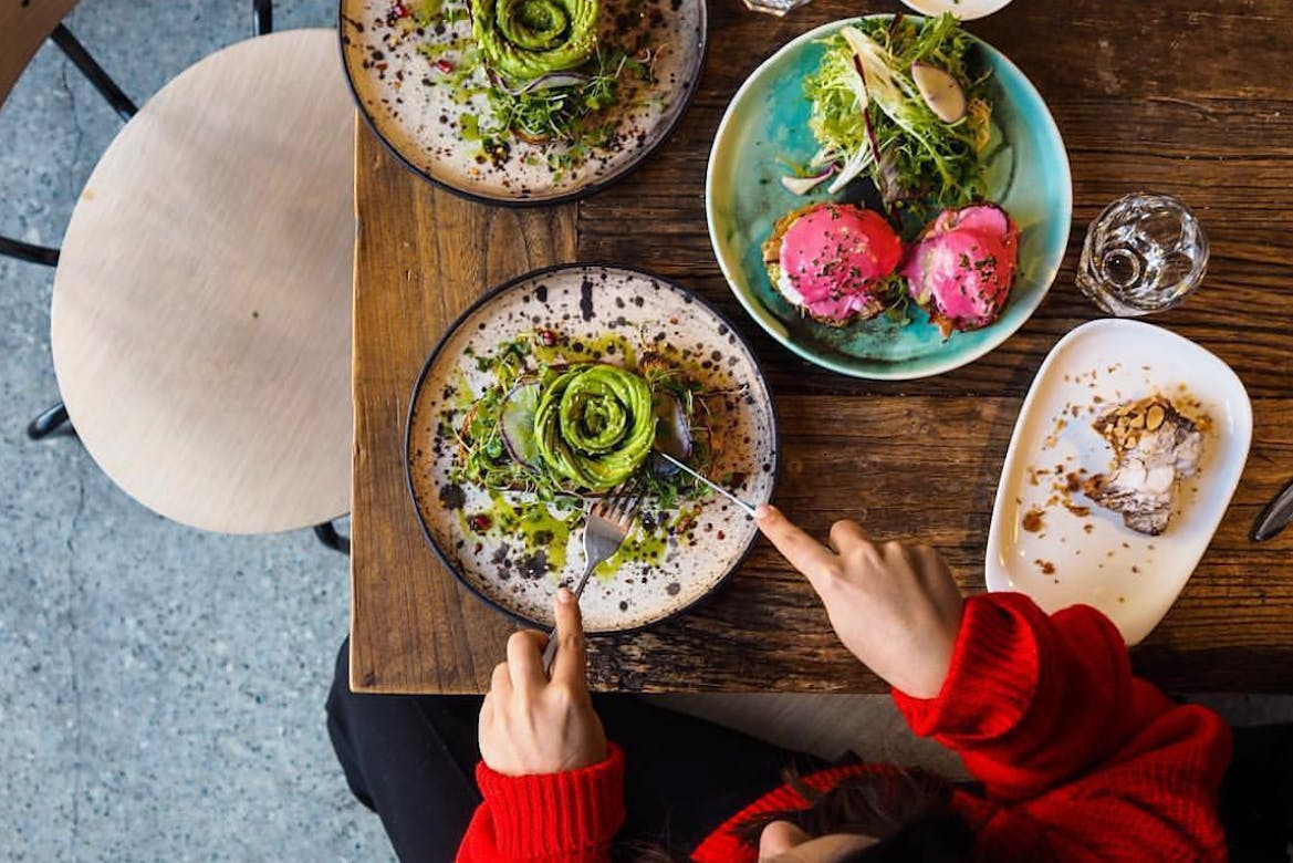 This restaurant's colourful menu will help brighten your winter blues