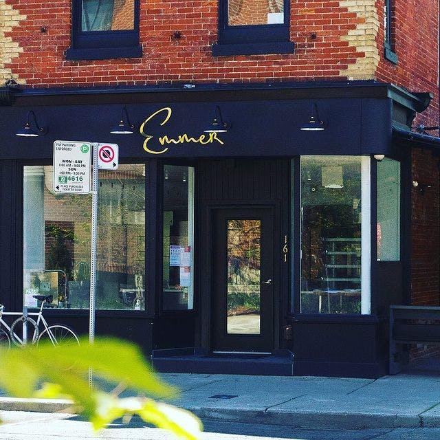 Emmer's Storefront on 161 Harbord Street in Toronto