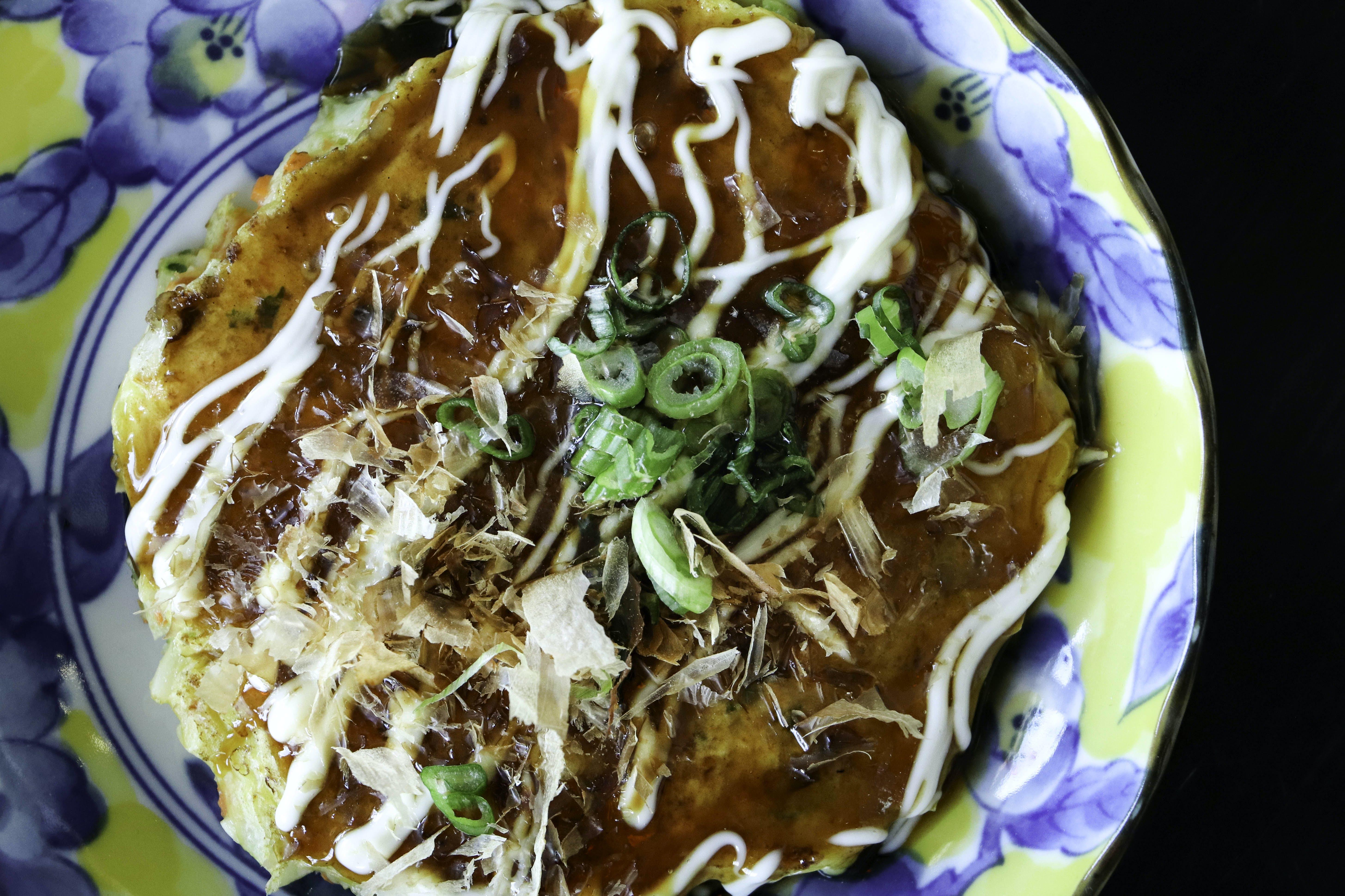 Ebi Okonomiyaki
