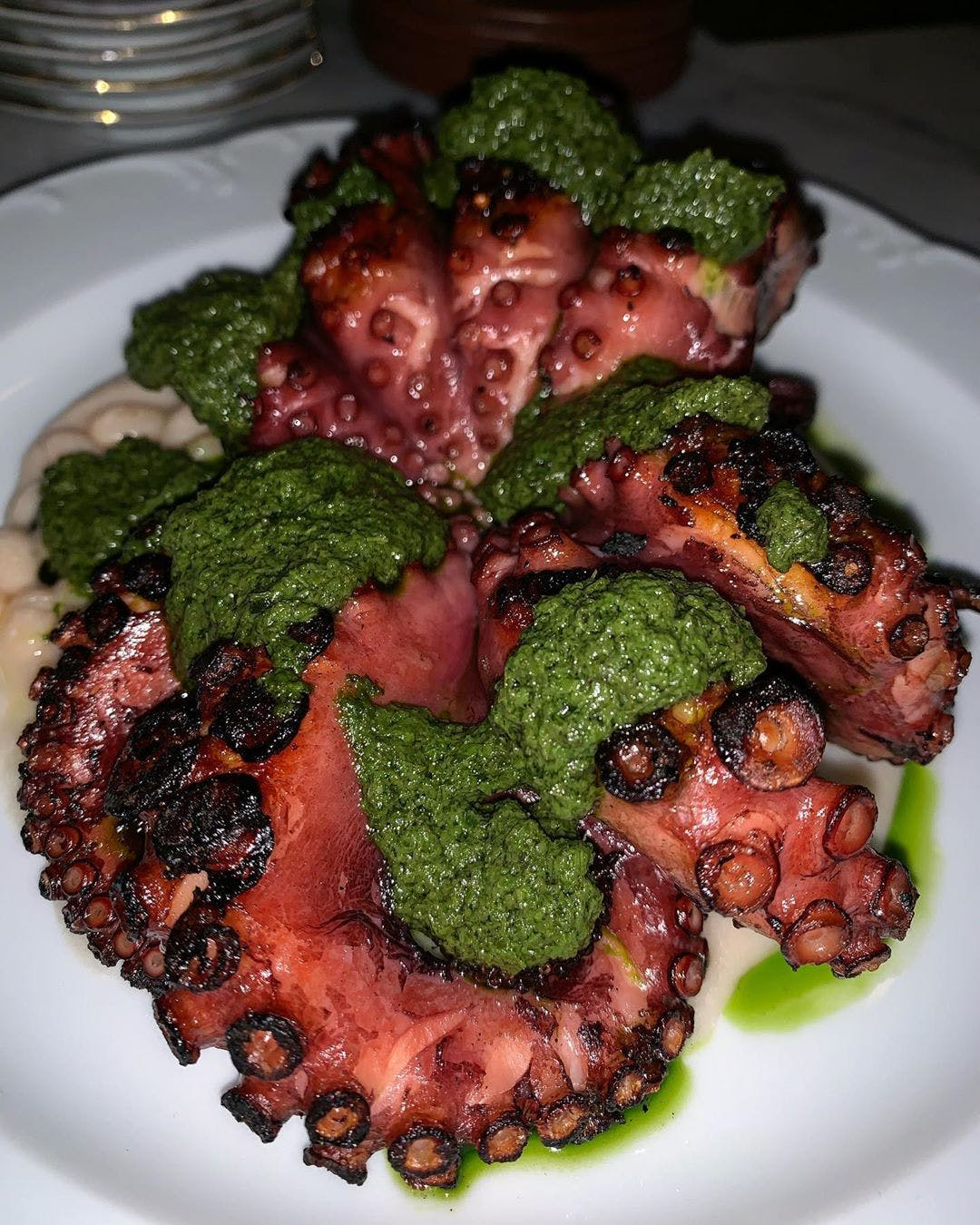 Giulietta's Grilled Octopus