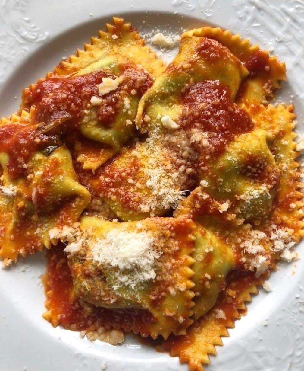 Ravioli Di Ricotta and Spinach