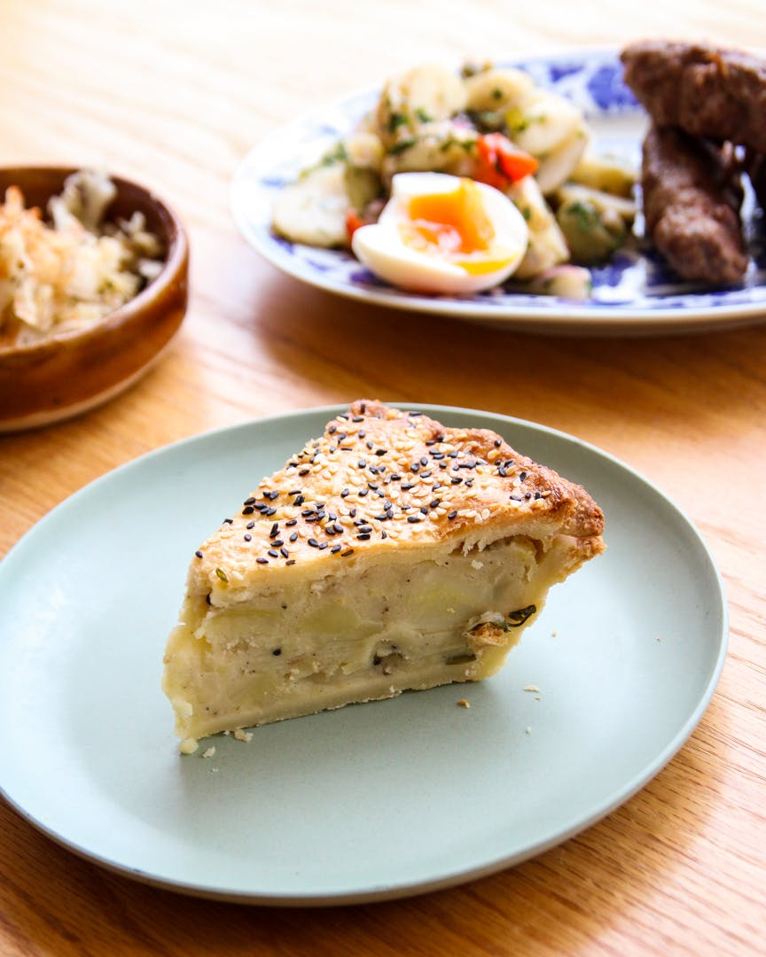 Placinta Cu Cartofi (potato pie)