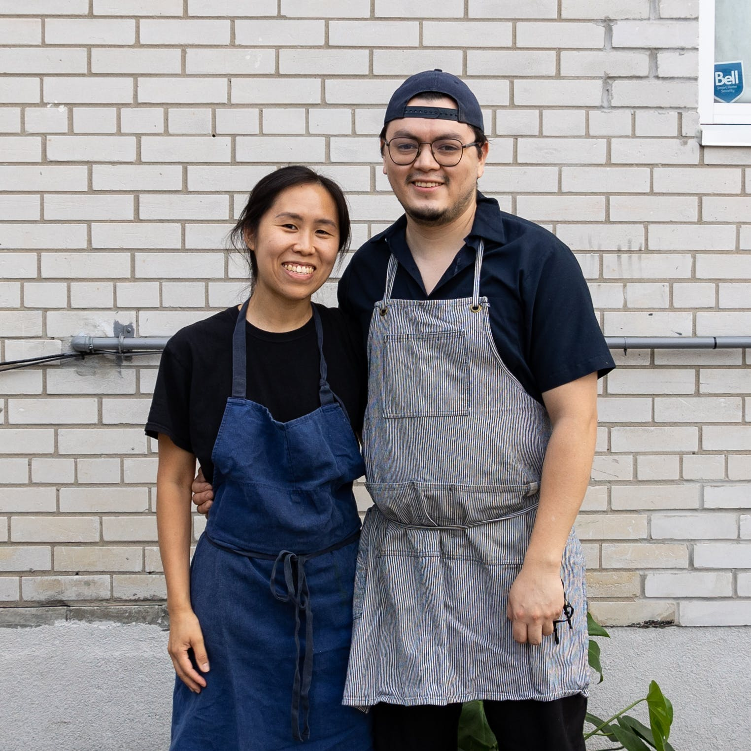 Chefs and Owners of ALMA+GIL Mandy Sou and Gerry Quintero