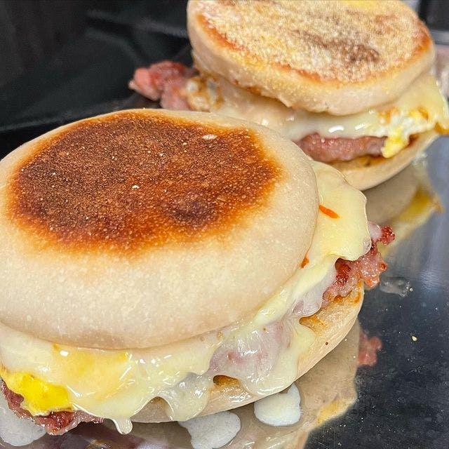 Breakfast sandwiches from Emmer Toronto