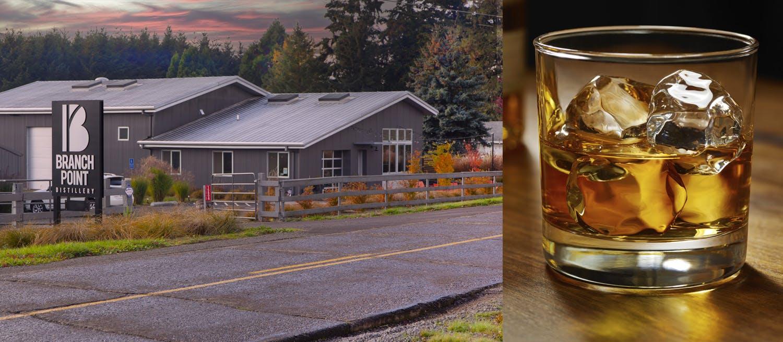 Branch Point Distillery - Whiskey Glass