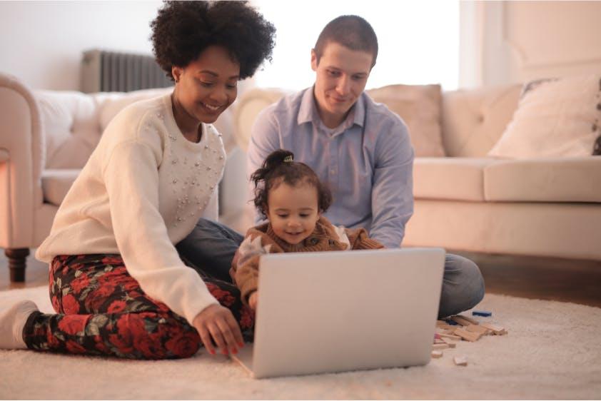 Feiertage Videochat Familie