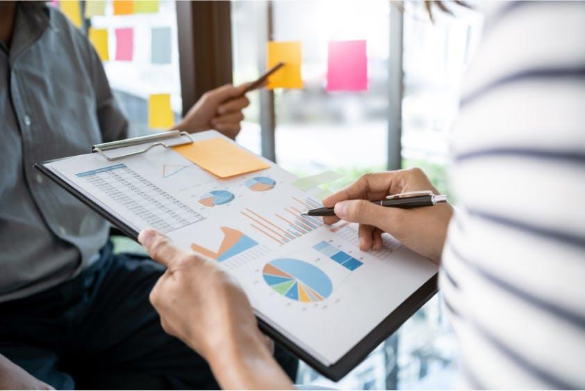 Strategieplan Analyseauswertung Diagramme