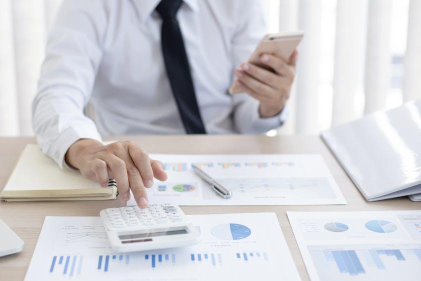 Buchprüfung Taschenrechner Diagramme und Tabellen