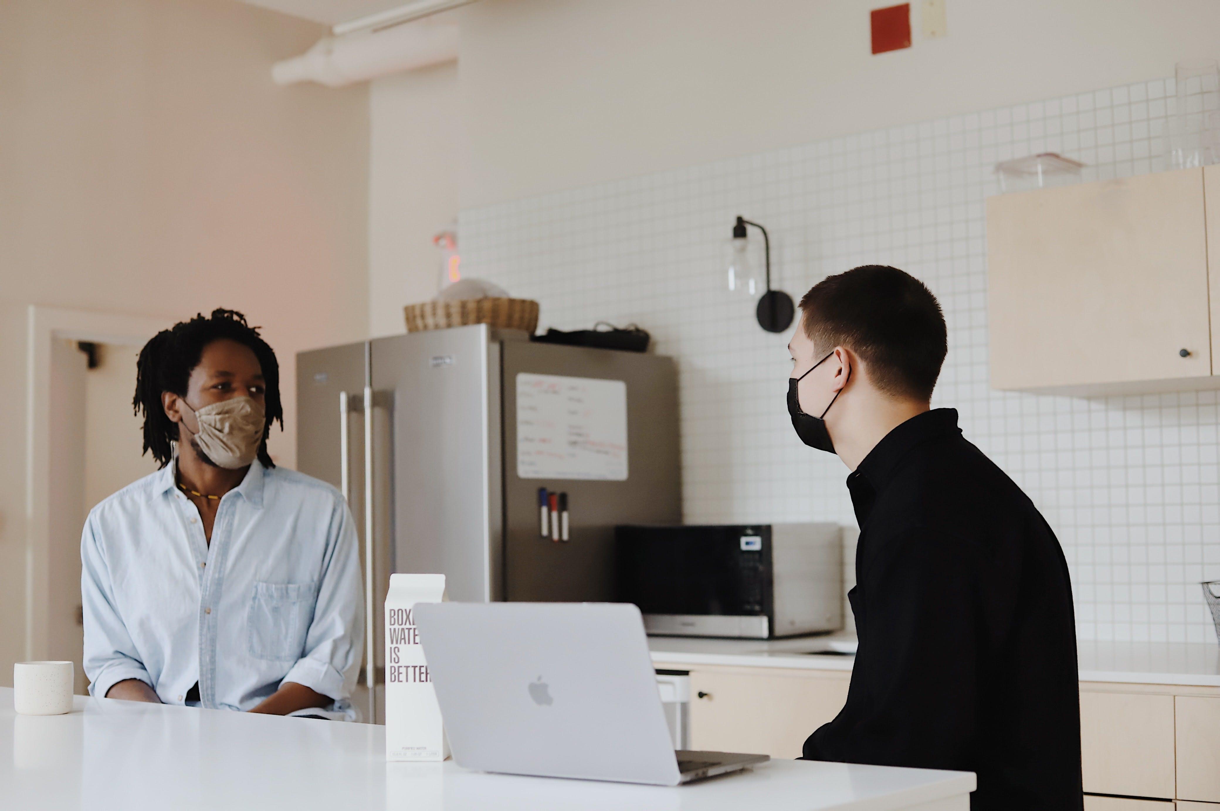 Maske sicheres Arbeiten Gesundheitsschutz