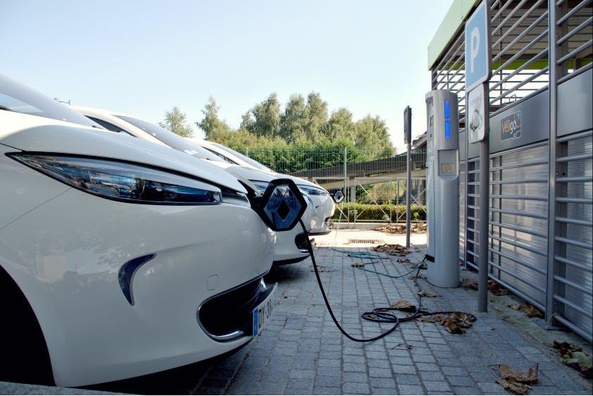 Ladestation Elektrofahrzeuge