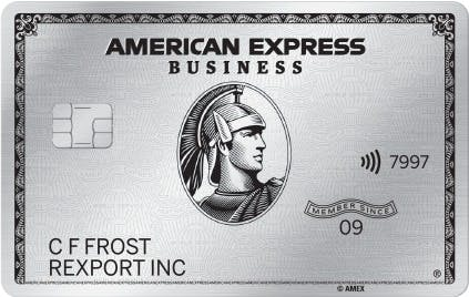 American Express Business Platinum for Amazon Sellers
