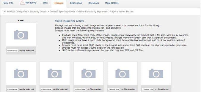 Amazon Product Images & SEO