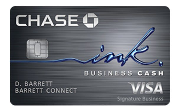 Chase Ink Business Cash for Amazon Sellers