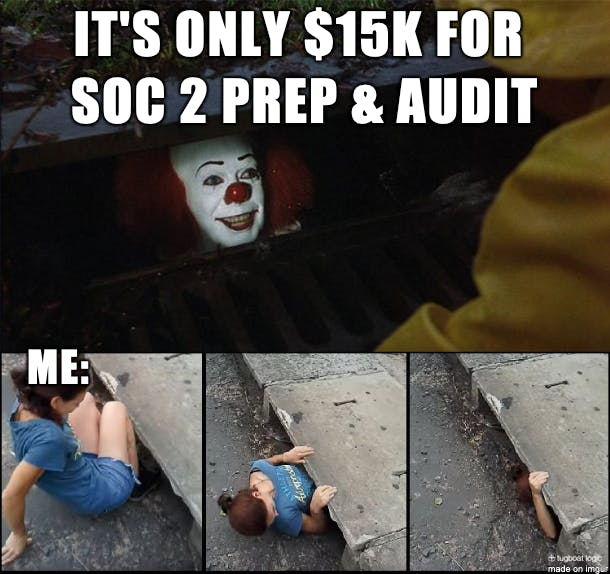 Always do your due diligence when picking an auditor to work with because price and experience isn't always everything (source: Tugboat Logic)