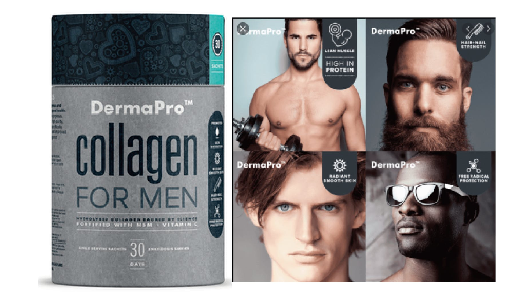 More and more men are taking collagen