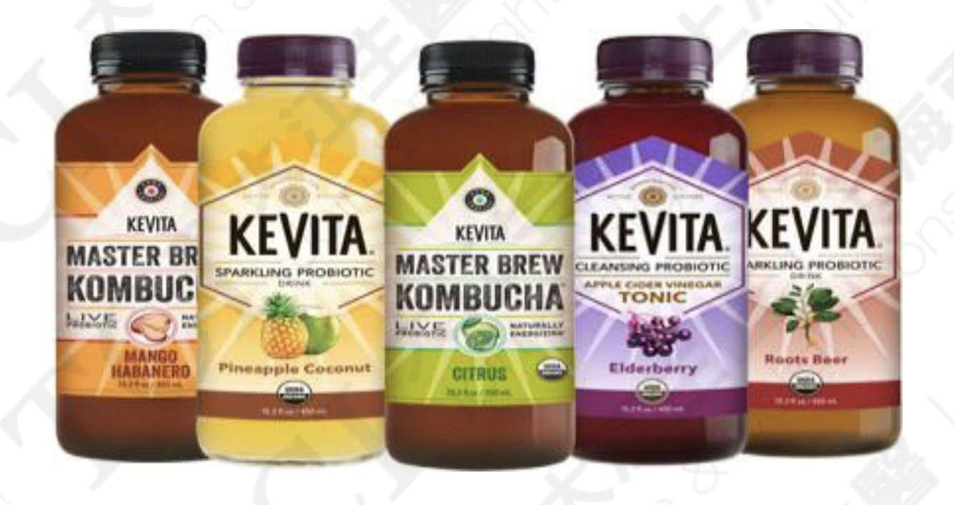 KeVita旗下益生菌飲料, 資料來源:Food Business News