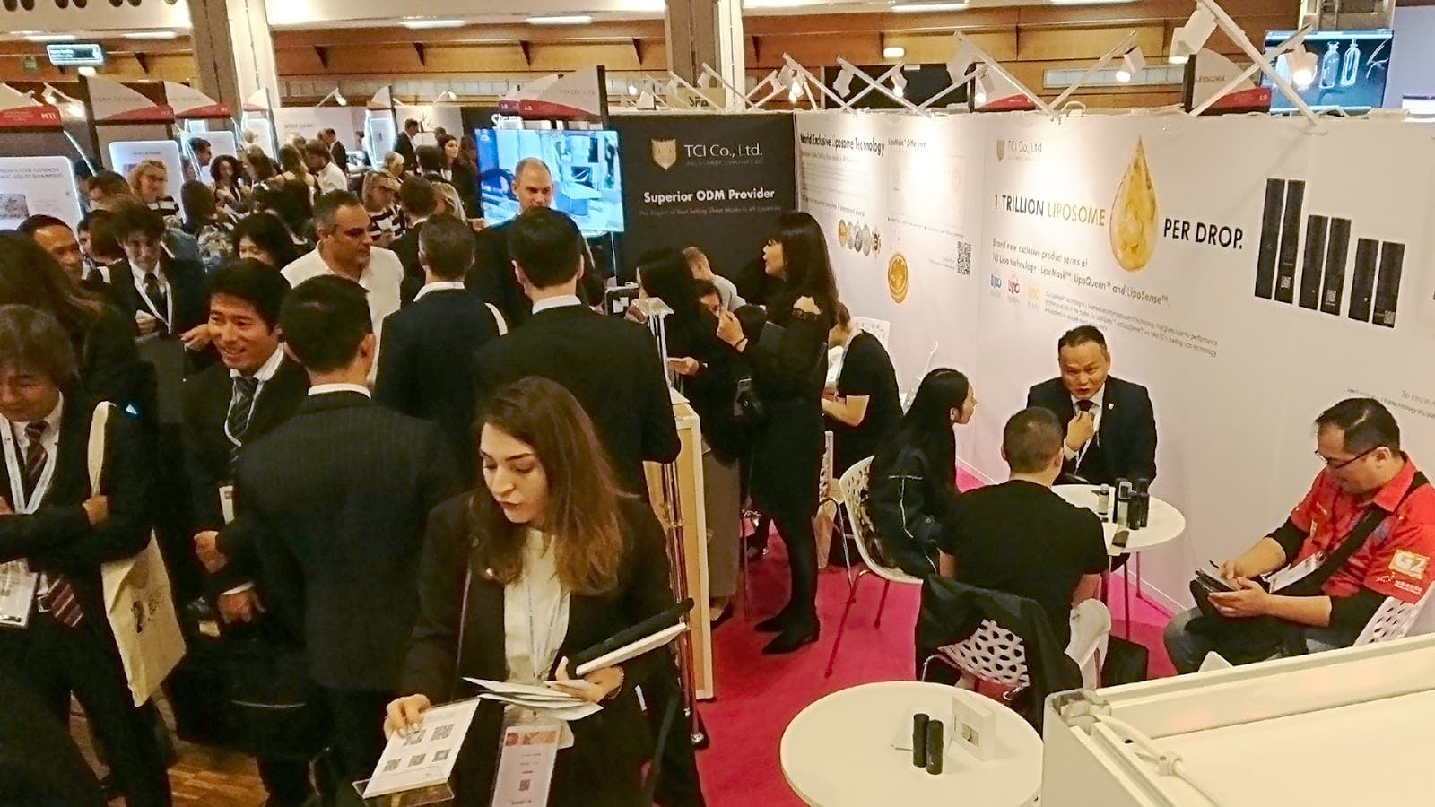 TCI 大江生醫微美科技 Cosmoprof Asia 亞洲首度發表