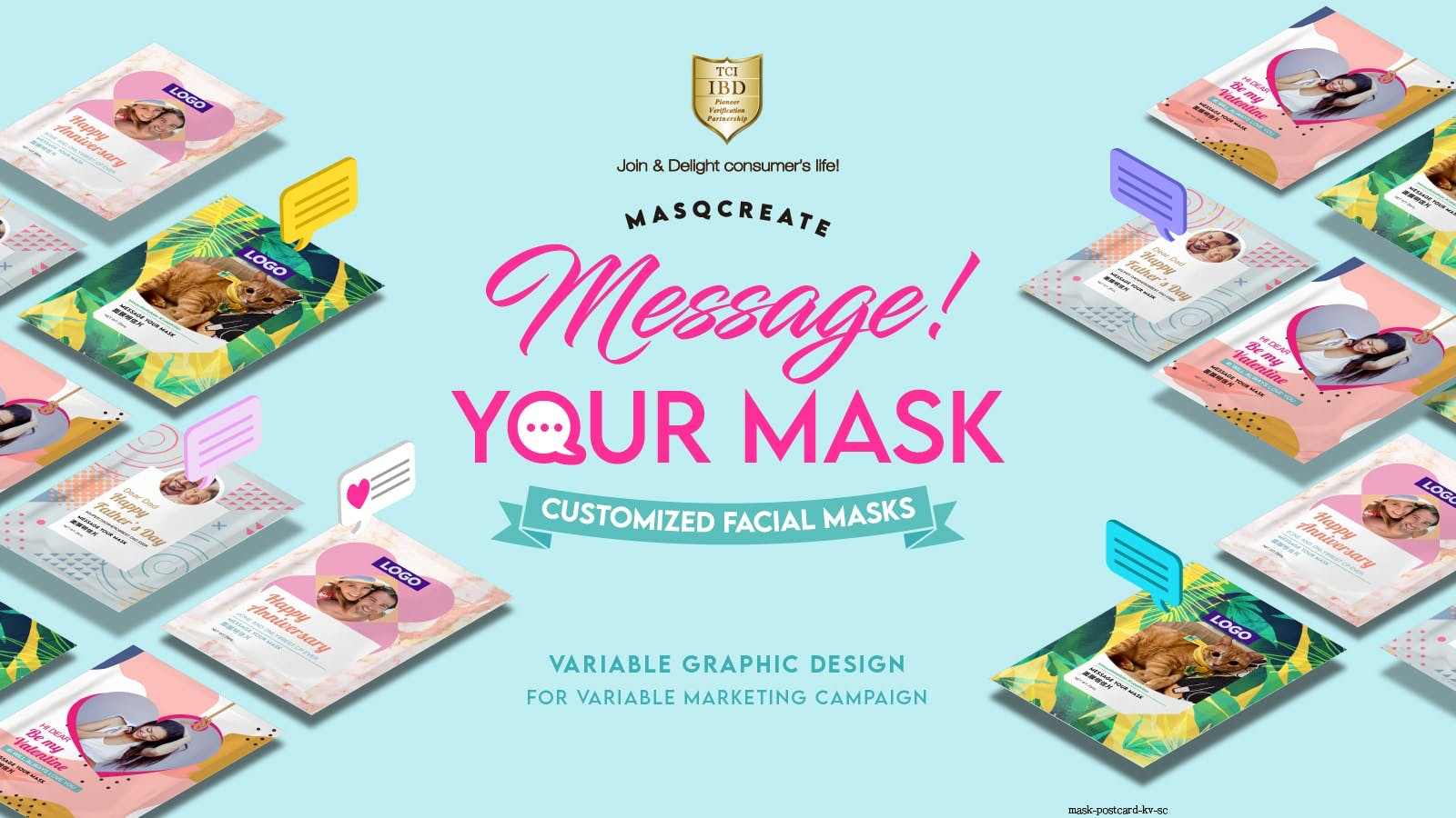 Message Your Mask