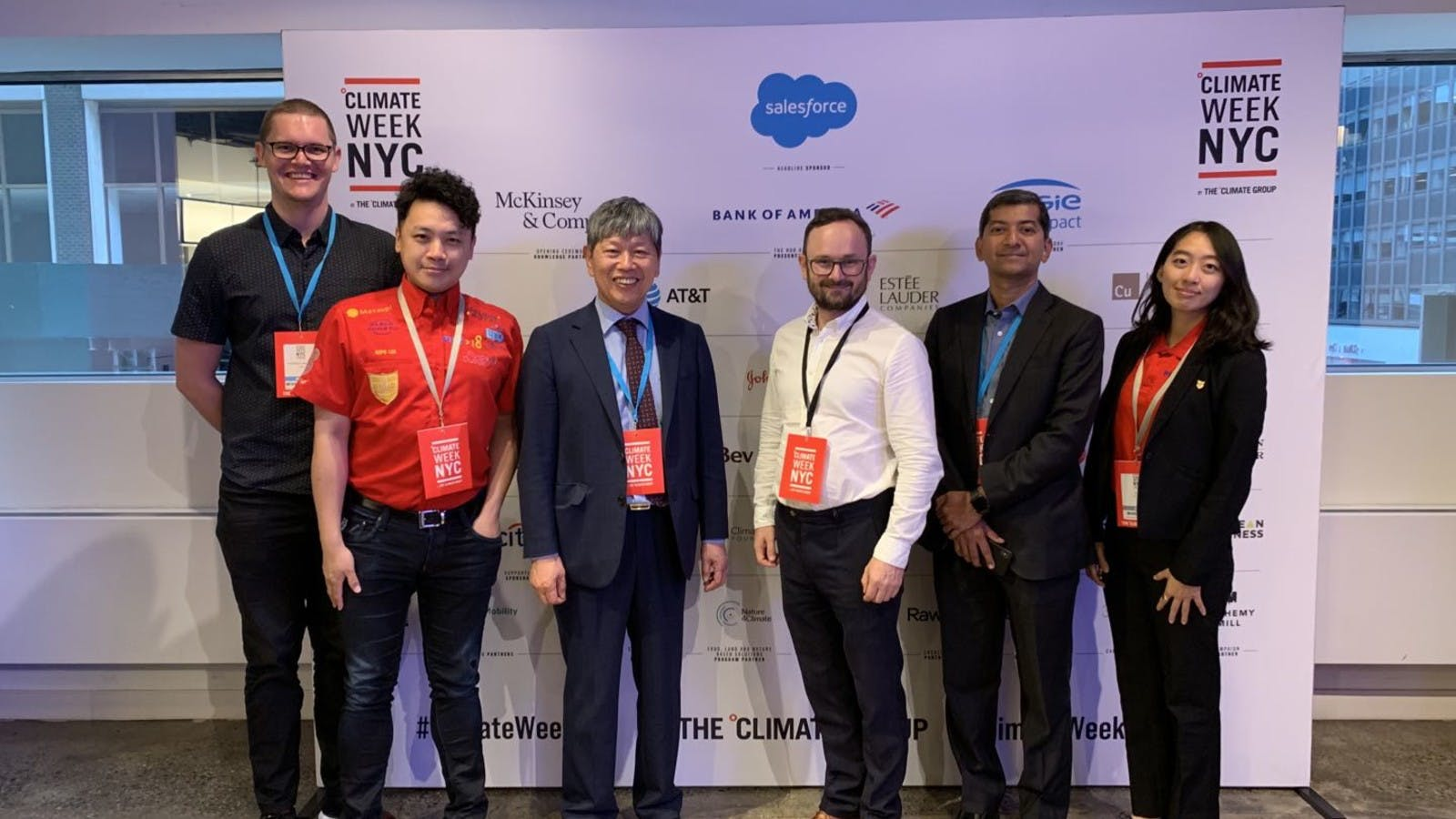 TCI's Attendance at Climate Week NYC: an Honorable Speech