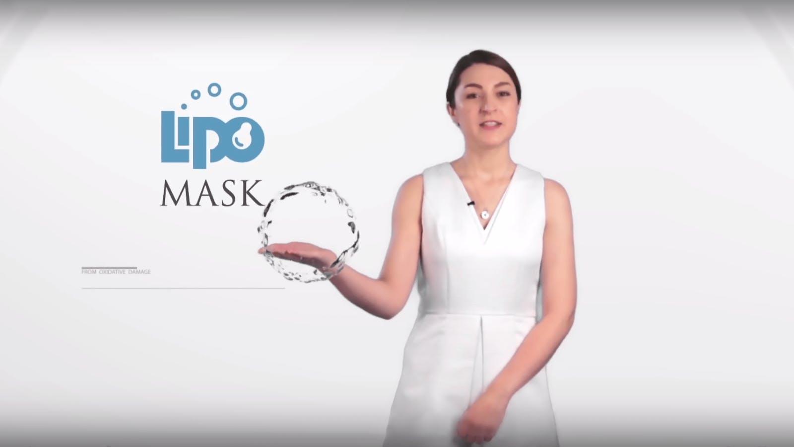 大江生醫 lipomask 微脂粒微美面膜技術