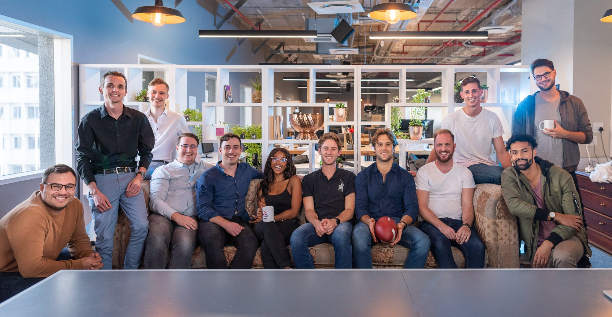 Pictured are some of the team behind the innovation. The Delta consists of expert researchers, designers, developers, product managers, marketers, and growth specialists. They are the fuel running through our venture building engine.