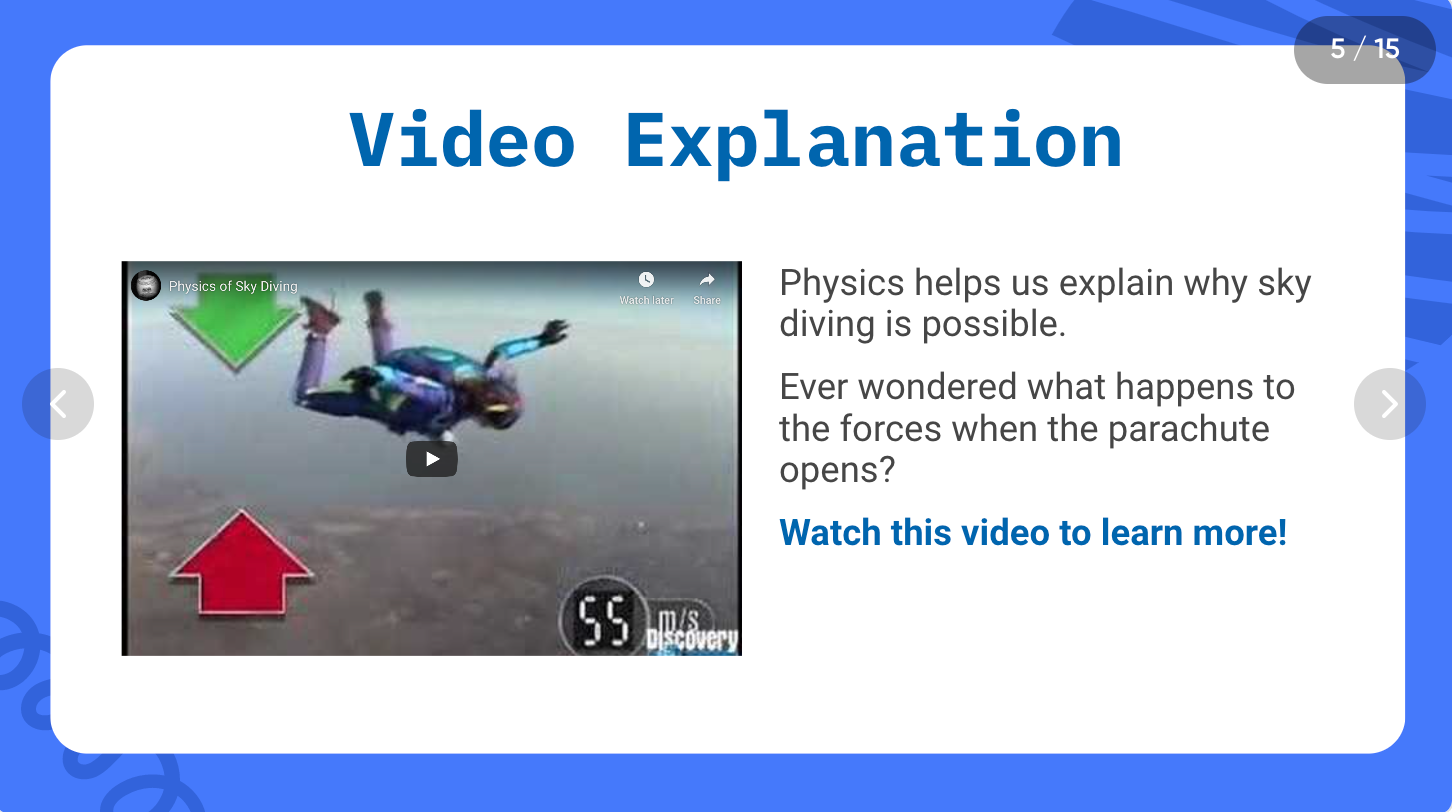 Physics ready-made lesson