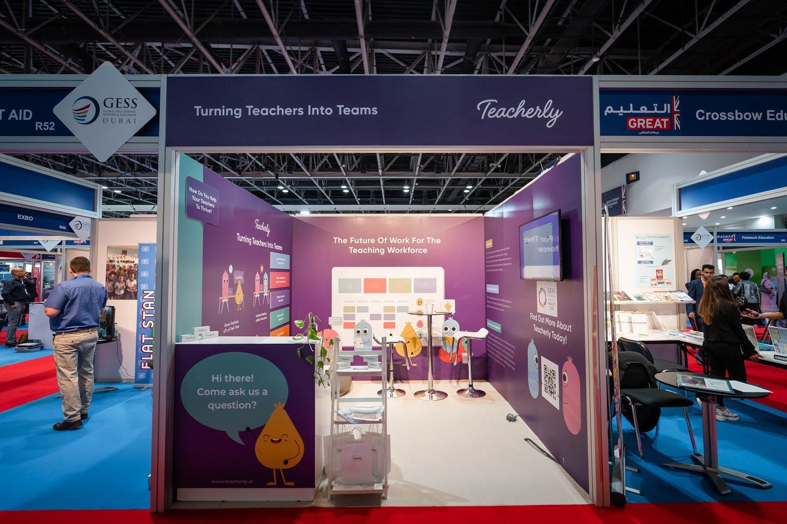 An education exhibition and conference in Dubai