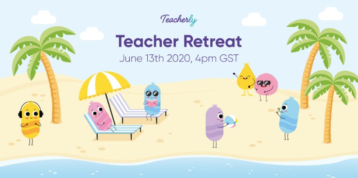 Teacher Retreat Invitation.