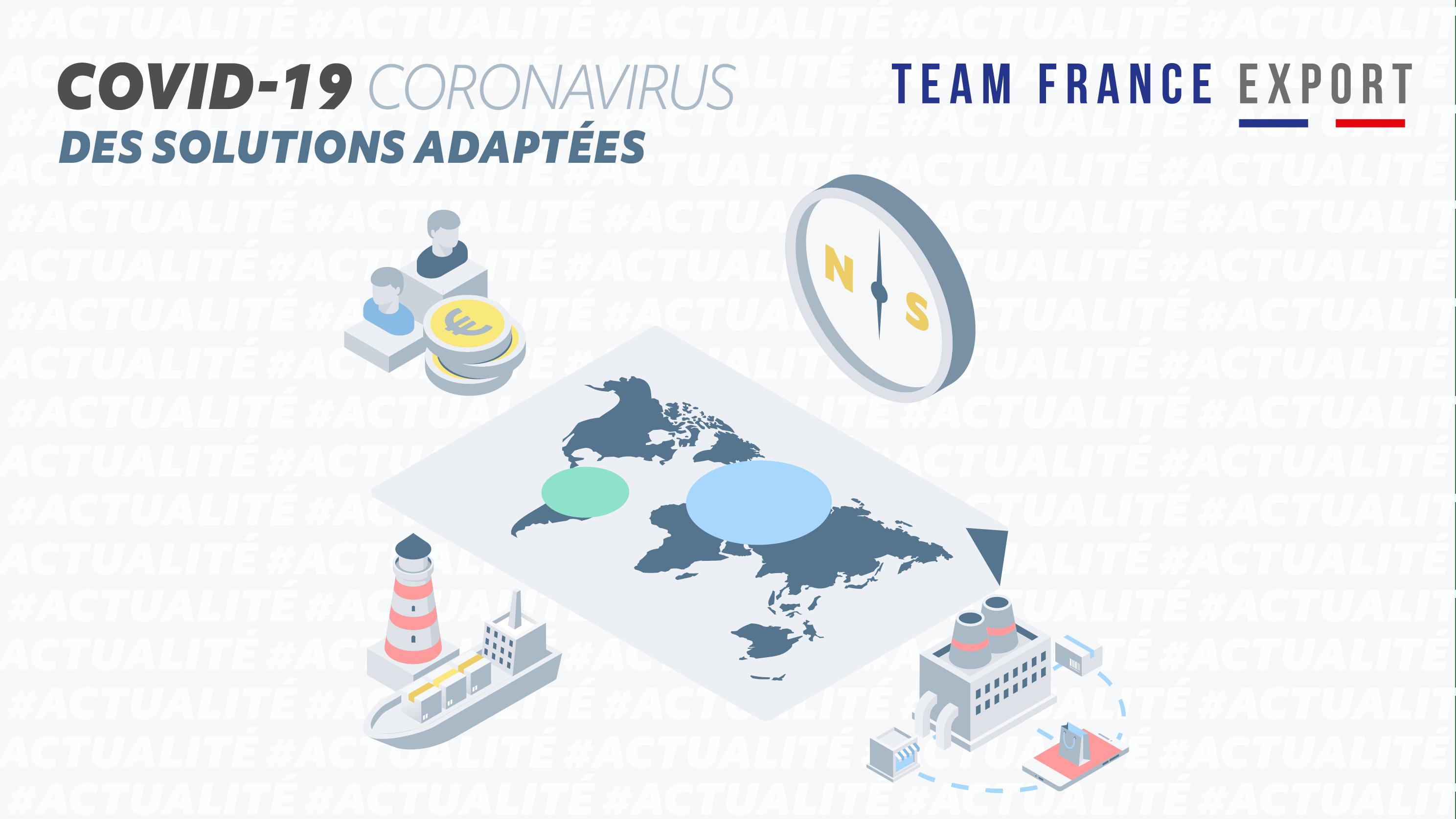 Tout l'écosystème de la TEAM FRANCE EXPORT mobilisé aux côtés des entreprises françaises