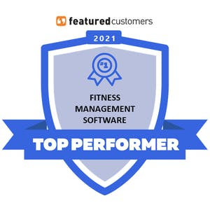 top performer featured customers badge