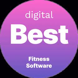 digital best fitness software badge