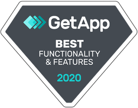 getapp leader badge for functionality and features