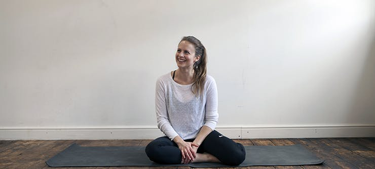 Zoe in her studio. Your studio might be emptier at the moment but your clients still need your help.