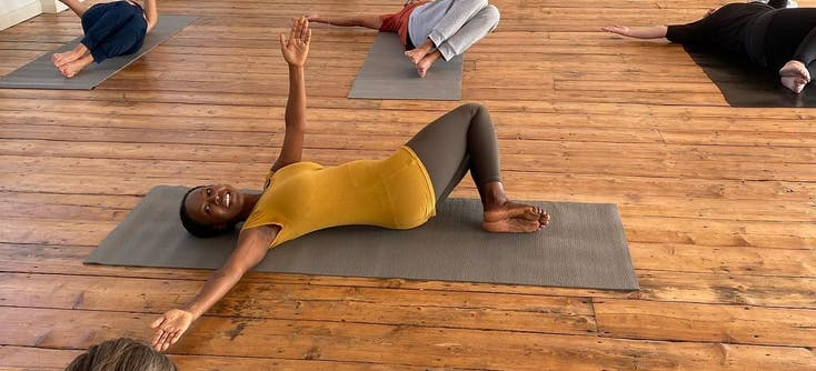 image of ankor pilates class