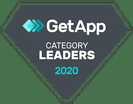 getapp leader badge for yoga studio software