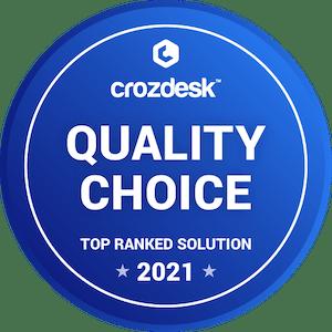 quality choice crozdesk badge